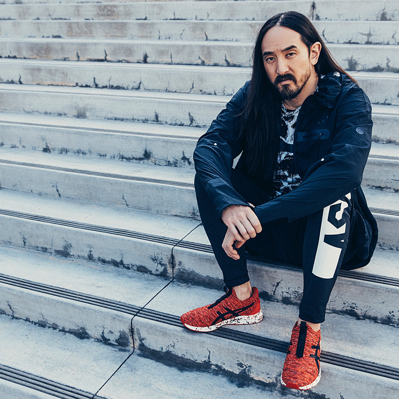3b7cac338ed Steve Aoki ASICS HYPERGEL-KENZEN Release Info | SneakerNews.com