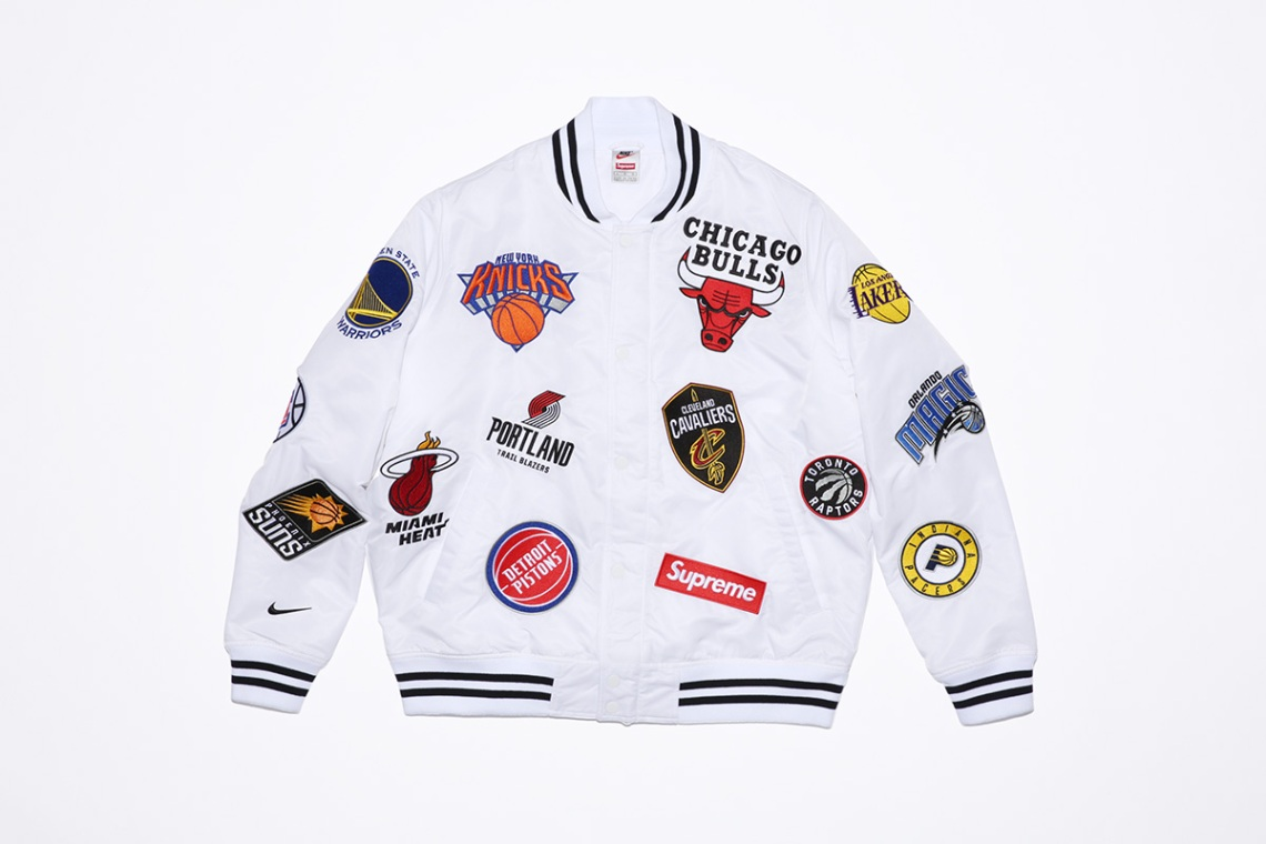 6137dce85ac2 Supreme x NBA x Nike Air Force 1 + Apparel Collection