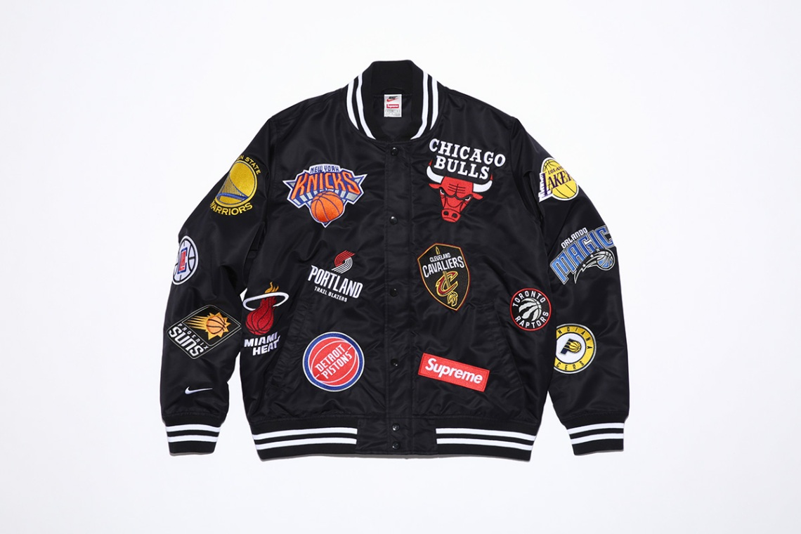 Supreme x NBA x Nike Air Force 1 + Apparel Collection 25579fcd7