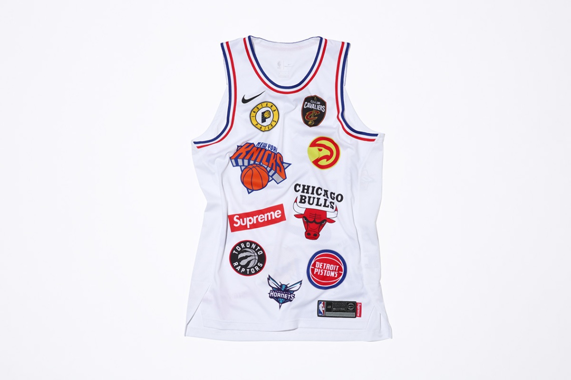 ad699905d51 Supreme x NBA x Nike Air Force 1 + Apparel Collection