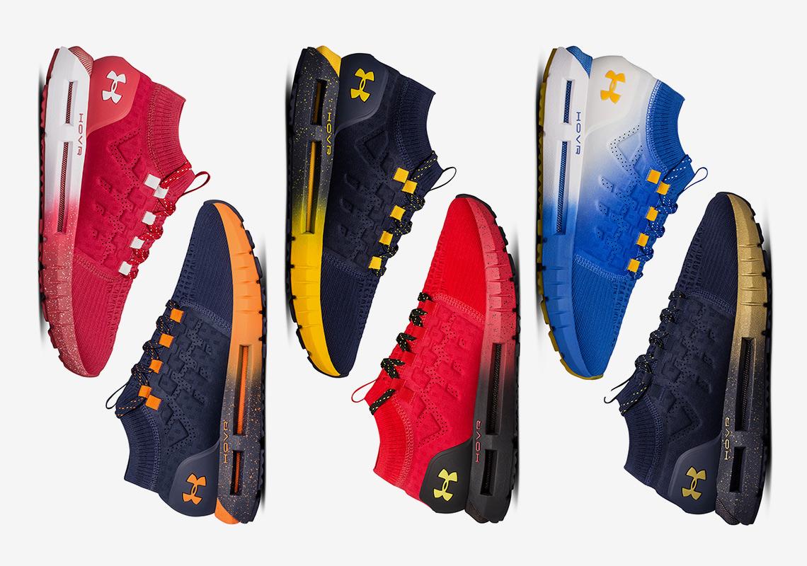 new style 3a0c7 88935 UA HOVR Phantom Team Pack - Release Info | SneakerNews.com