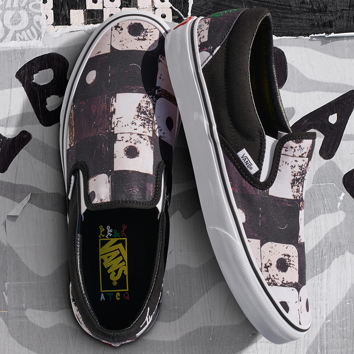 f4765e493c48f7 A Tribe Called Quest x Vans Footwear Collaboration Release Info ...