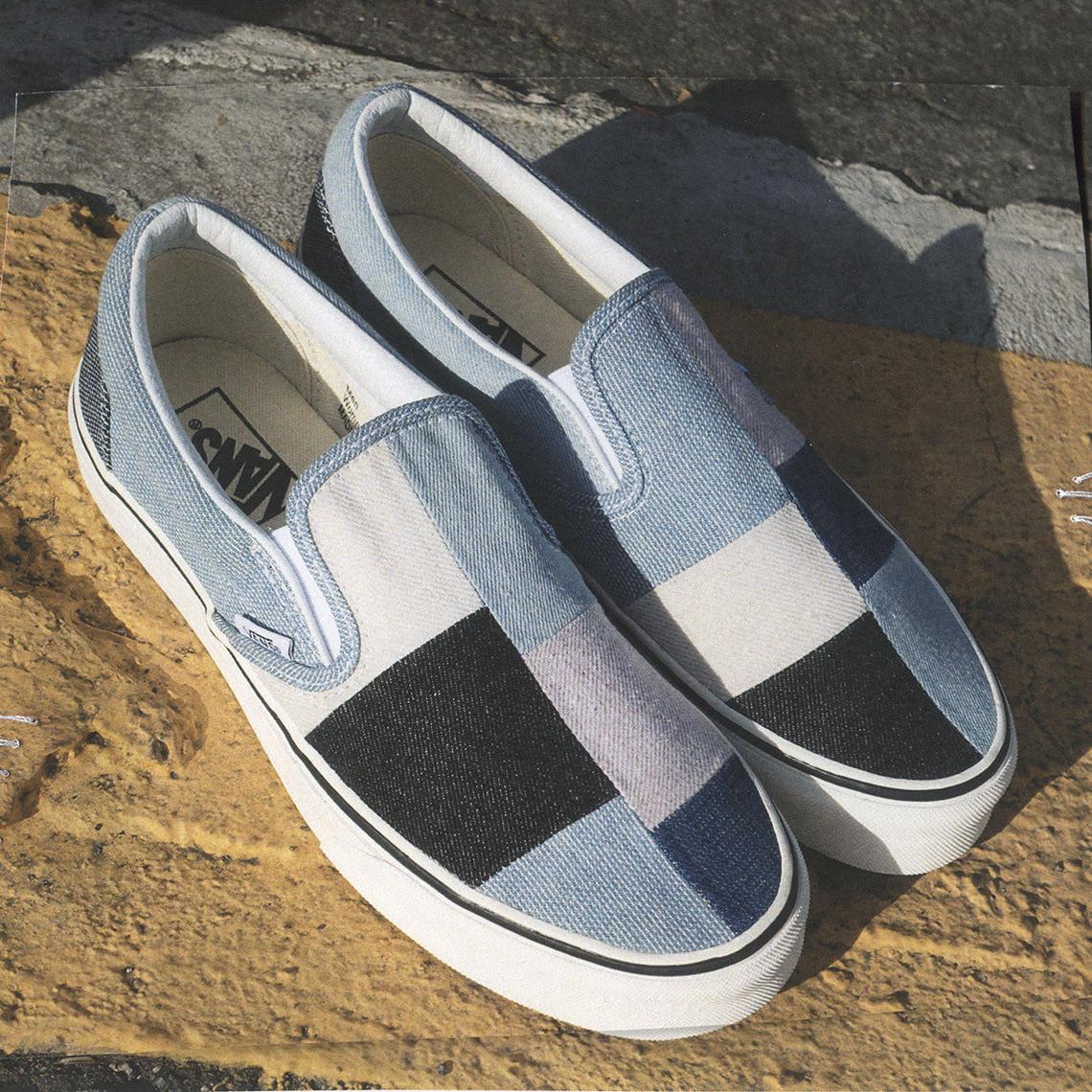 Vans Denim Patchwork Collection Release Info Sneakernews Com