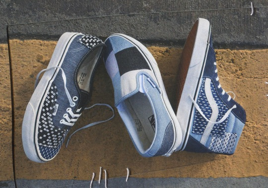 Vans To Release A Denim Patchwork Footwear Collection