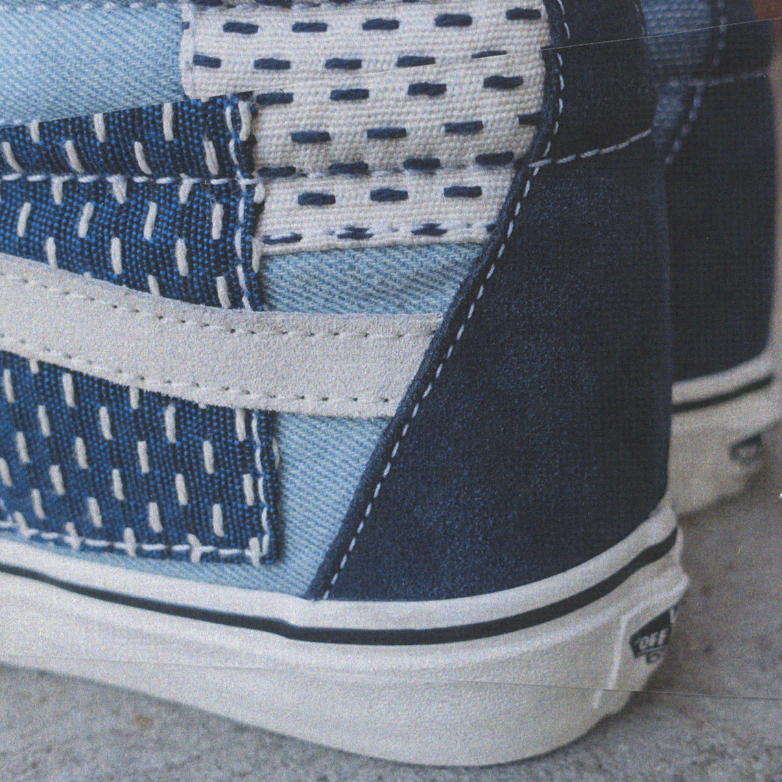 6b08e39515 All three Denim Patchwork Vans designs will arrive at select retailers as  well as Vans.com later this month.