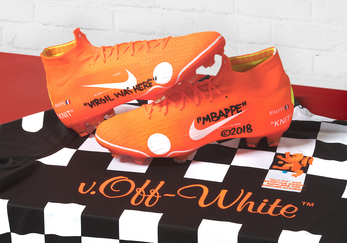 27c7ec7e25 Virgil Abloh's OFF WHITE x Nike Mercurial Vapor 360 To Debut And Release  This Weekend