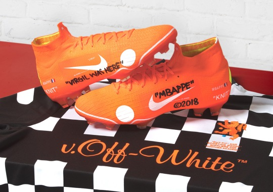 Virgil Abloh's OFF WHITE x Nike Mercurial Vapor 360 To Debut And Release This Weekend