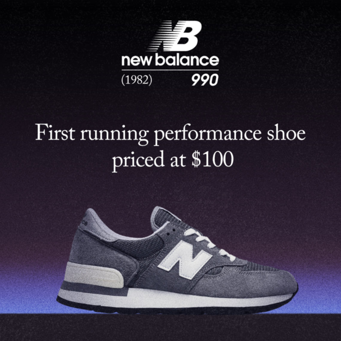 hot sale online 30d48 2e63c The Evolution Of The New Balance 990, From 1982 To Present ...