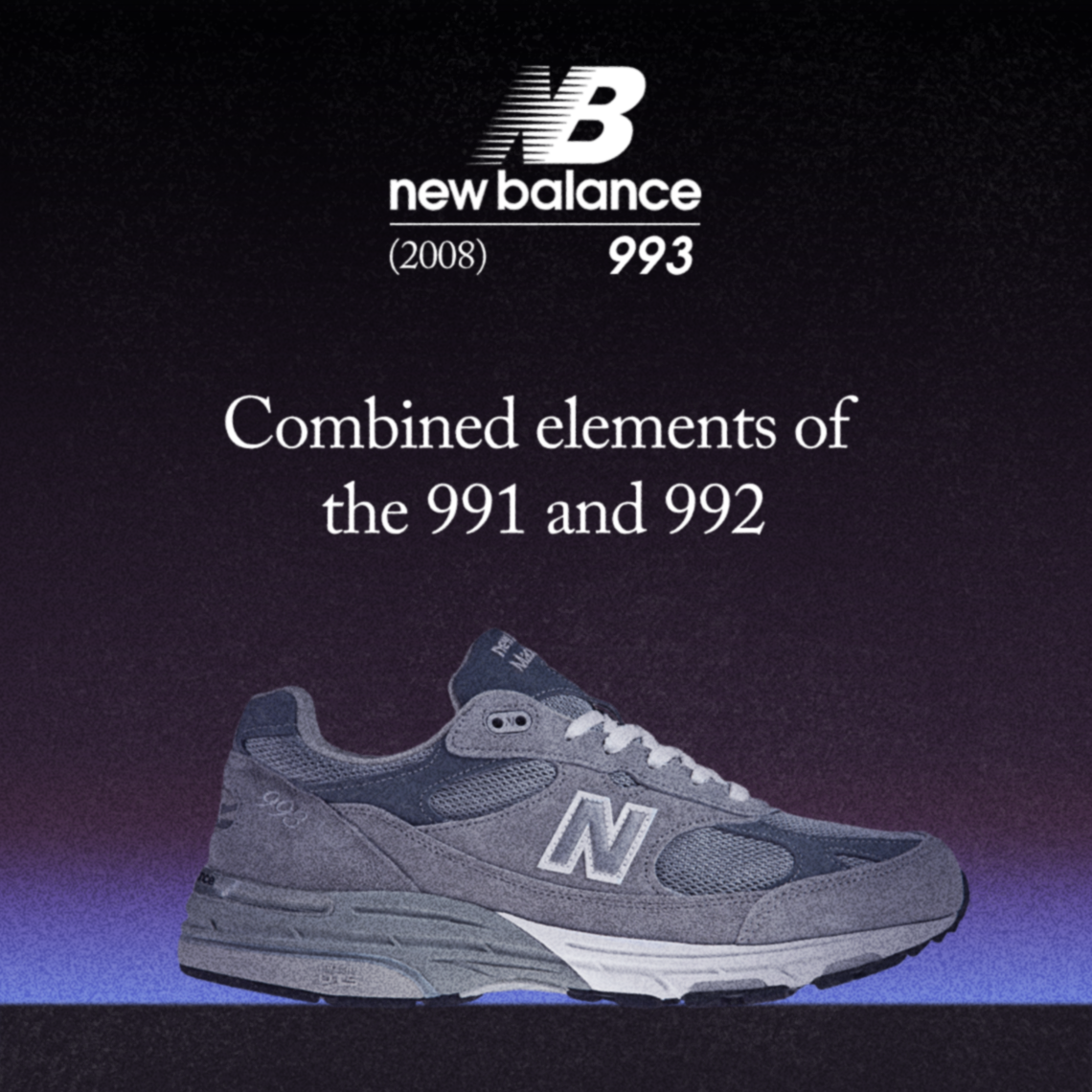 vente chaude en ligne d2a34 b8ef3 The Evolution Of The New Balance 990, From 1982 To Present ...