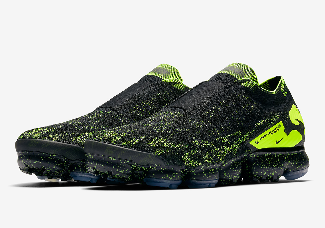 Acrónimo X Nike Vapormax Moc 2 Negro / Voltio / Negro / Blanco Ynoweg