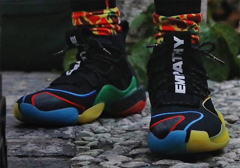 new styles a473c 700a5 adidas Crazy BYW X Gratitude Empathy  SneakerNews.com