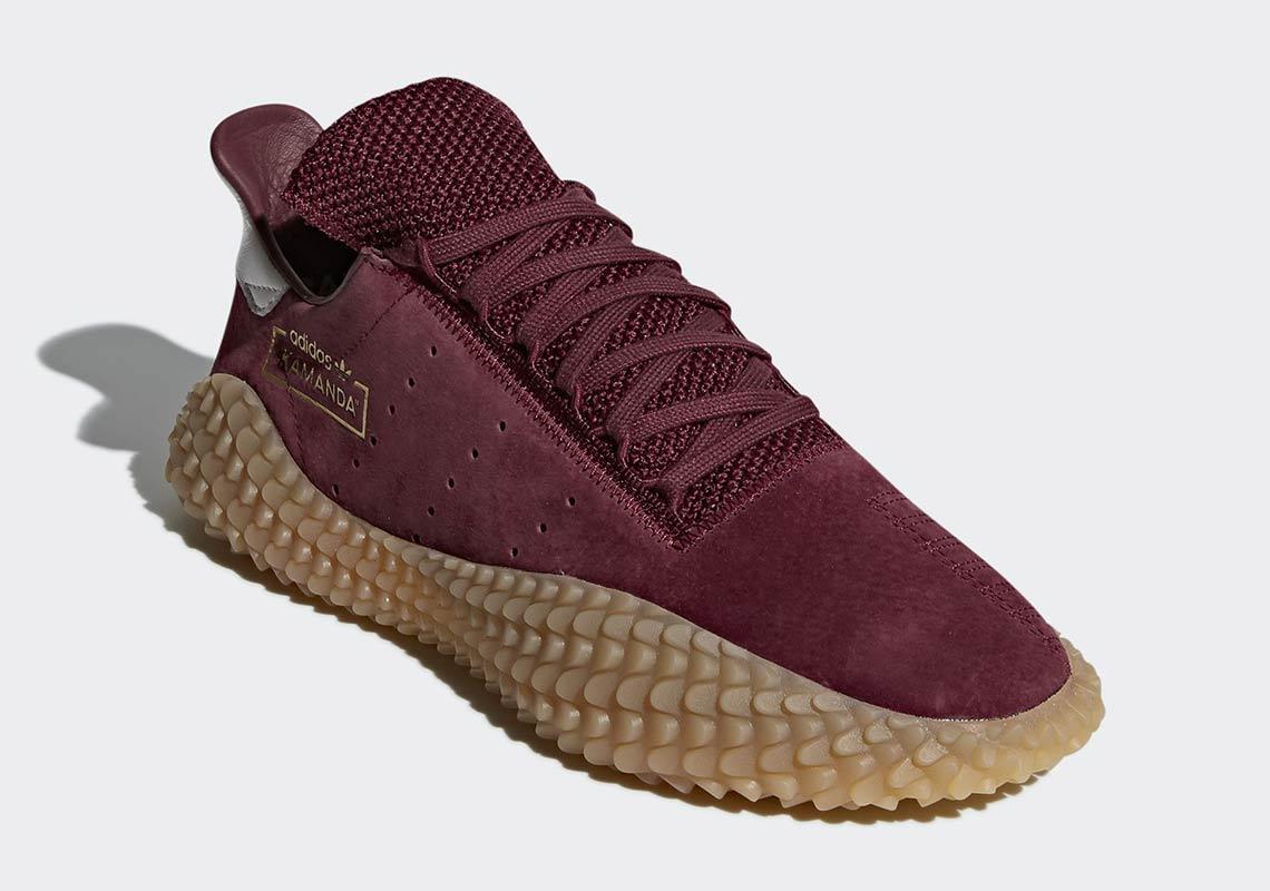 Burgundy Adidas Shoes