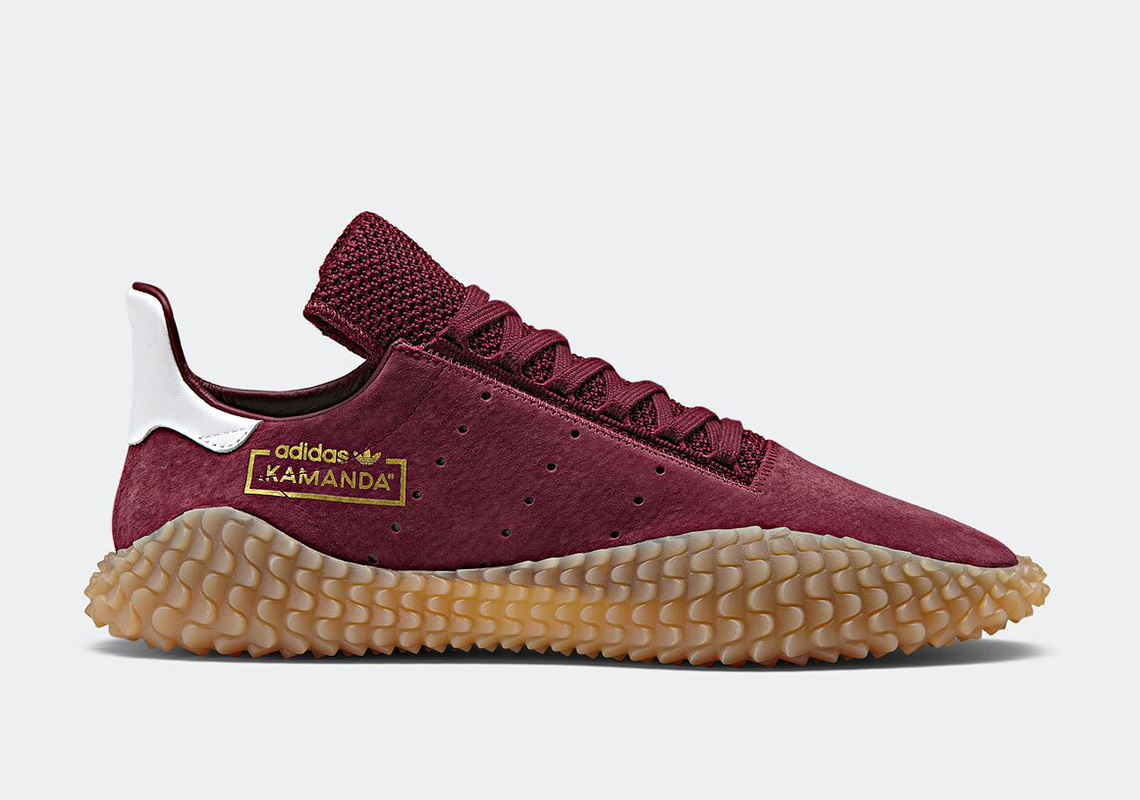 Adidas Originals Kamanda BlackGum CQ2220 and Collegiate