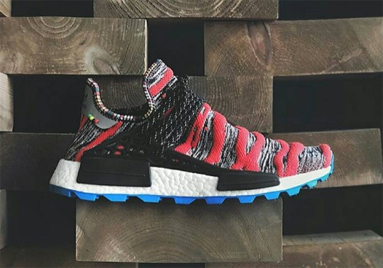 Up Close With The Pharrell x adidas NMD Afro Hu
