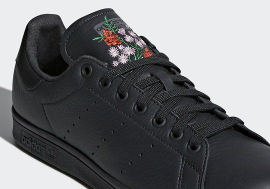adidas To Release The Stan Smith With Floral Embroidery
