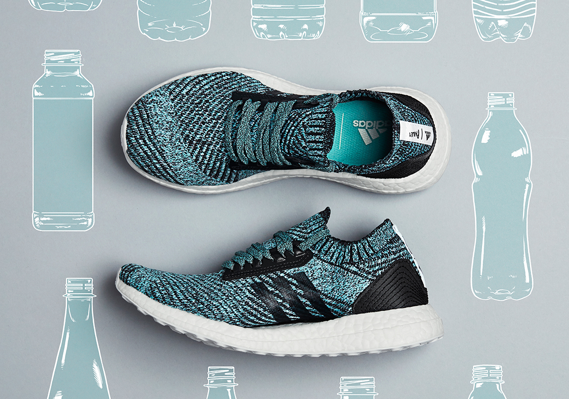 online store b339e 6bc35 Parley For The Oceans x adidas Ultra BOOST X Release Date April 22, 2018.  Color CarbonCarbonBluspi