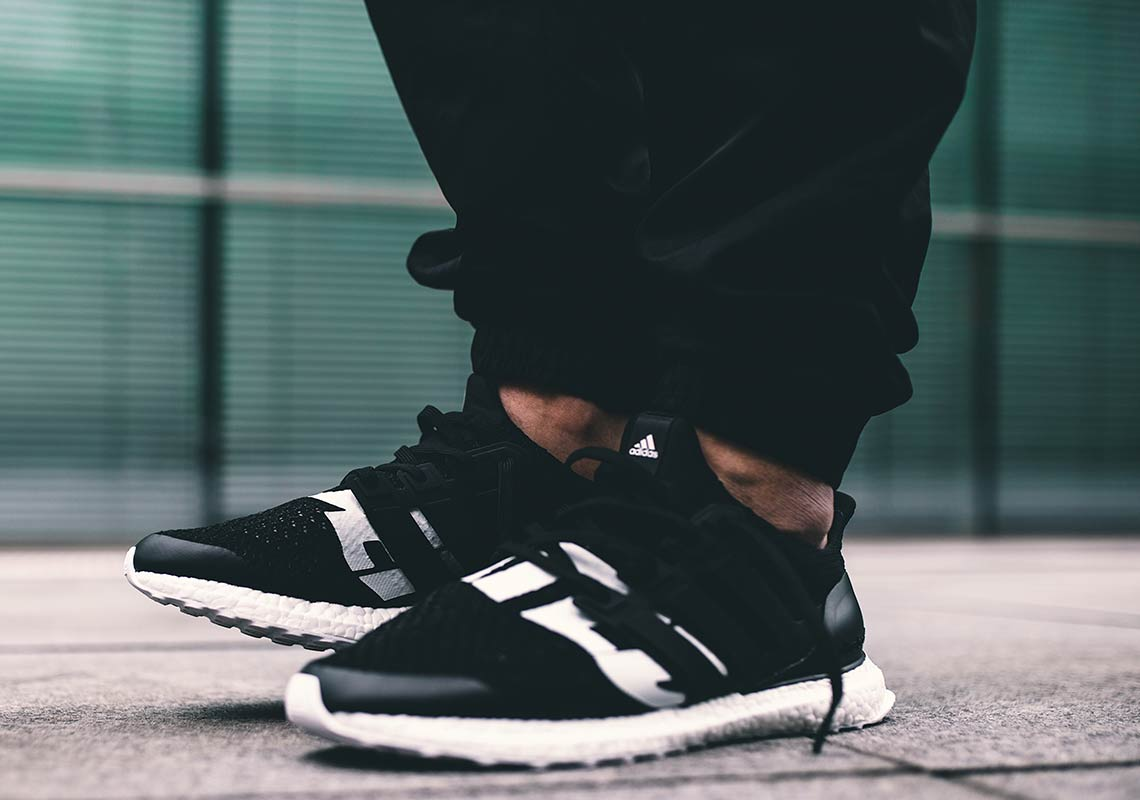 01c18a37227 adidas x UNDEFEATED Ultra Boost On-Foot Look BB22480