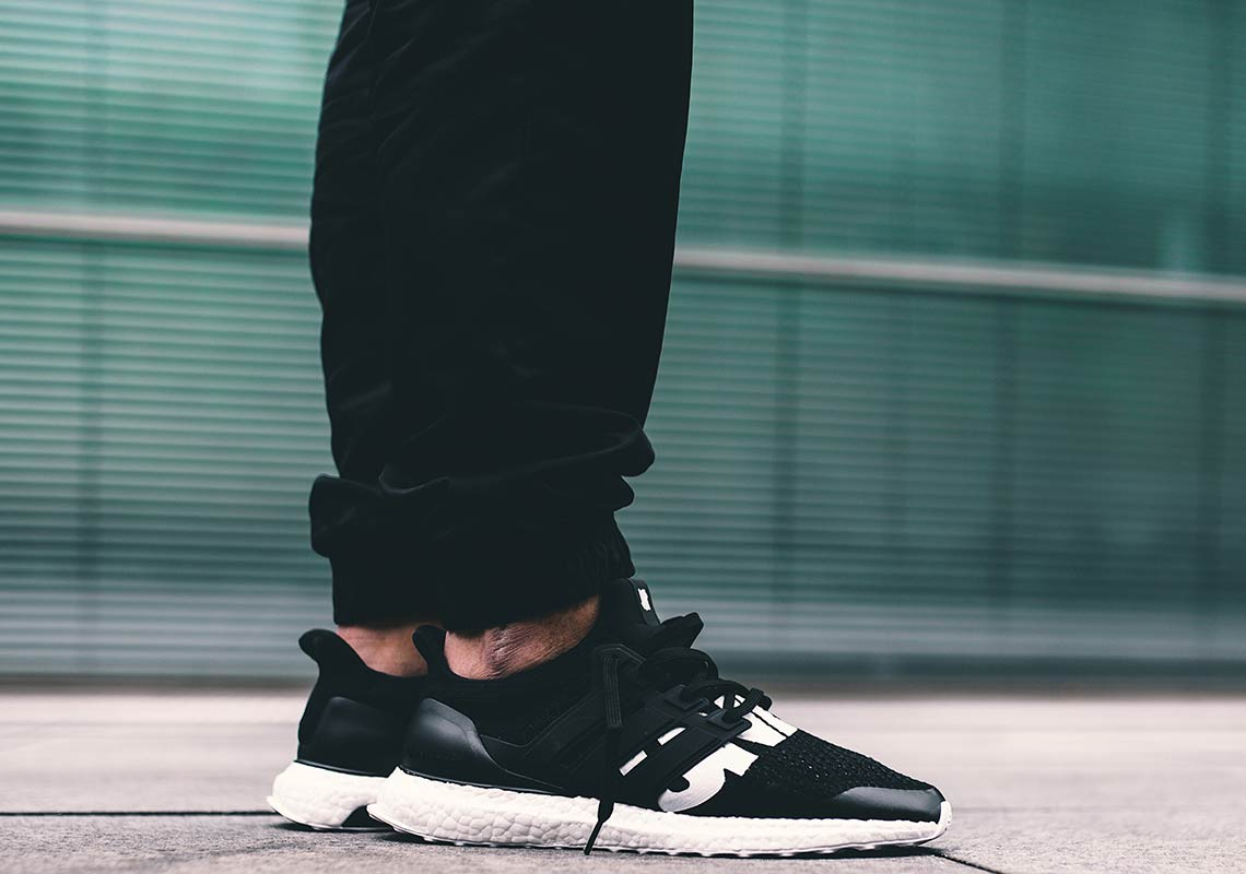 the best attitude 31fd1 57962 adidas x UNDEFEATED Ultra Boost On-Foot Look BB22480  Sneake
