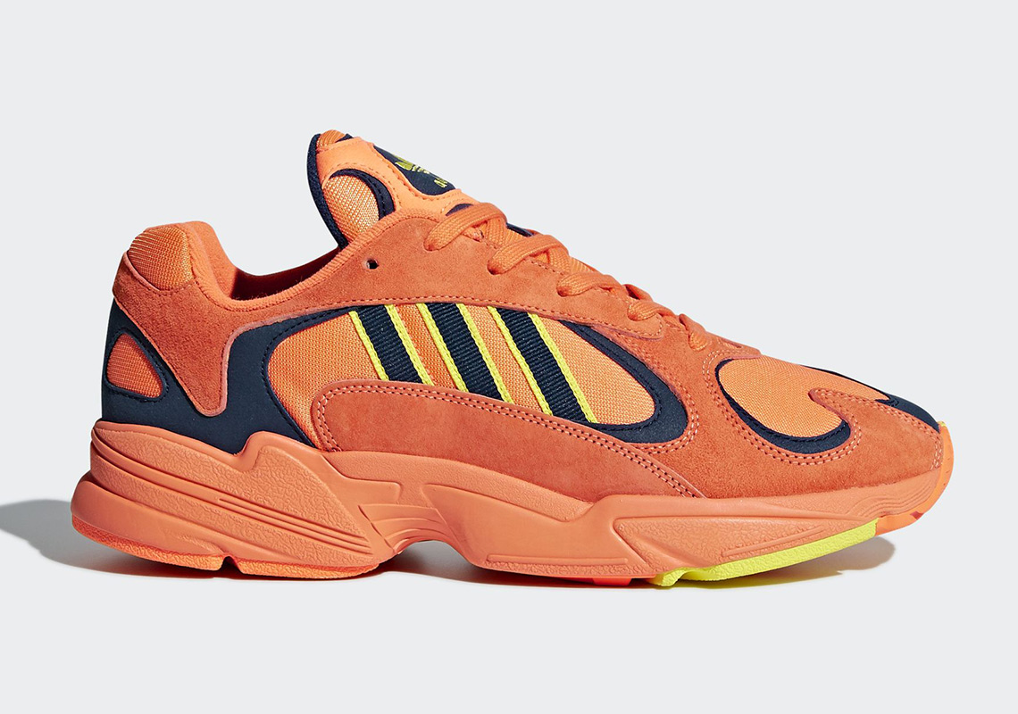 Latest adidas YUNG-1 Orange Yellow outlets Navy Clearance