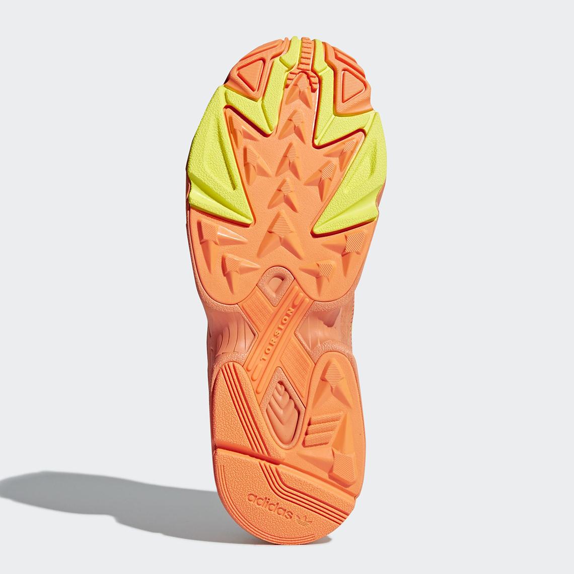 adidas YUNG-1 Orange Yellow Navy