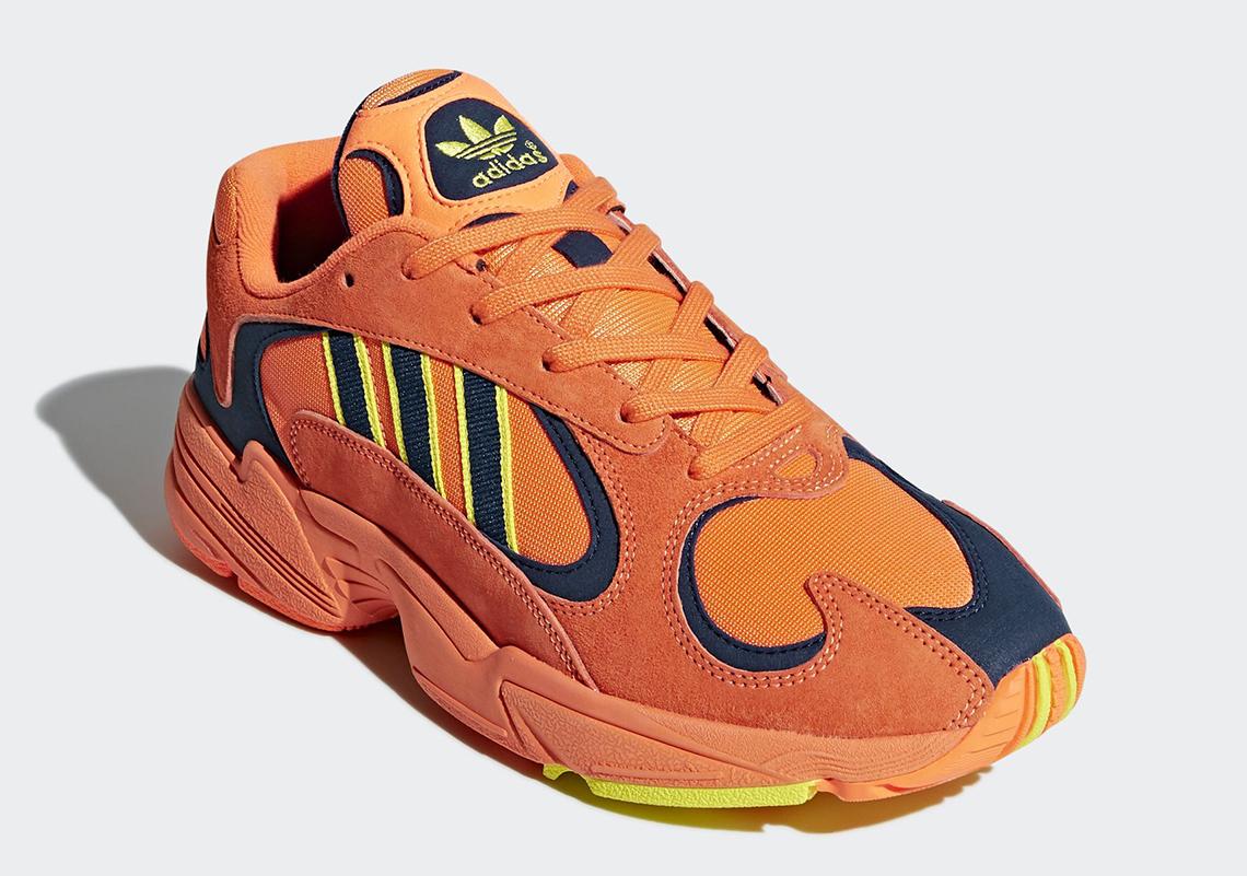 adidas YUNG-1 Orange Yellow Navy \