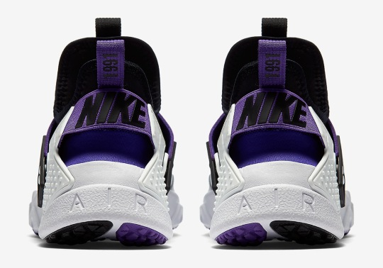 "The Nike Air Huarache Drift Debuts In The OG ""Purple Punch"""