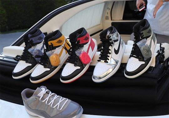 DJ Khaled Reveals Upcoming Air Jordan 1 Releases