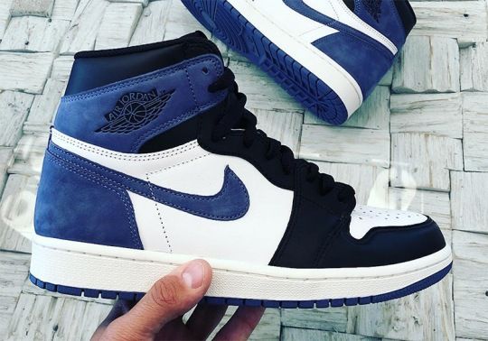 "Air Jordan 1 ""Blue Moon"" Revealed"