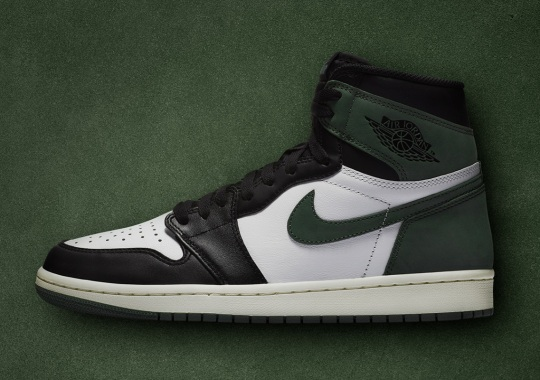 "Updated Release Info For The Air Jordan 1 Retro High OG ""Clay Green"""