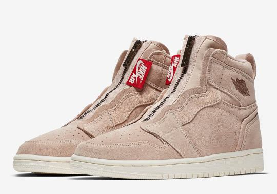 "Release Info For The Air Jordan 1 High Zip ""Particle Beige"""