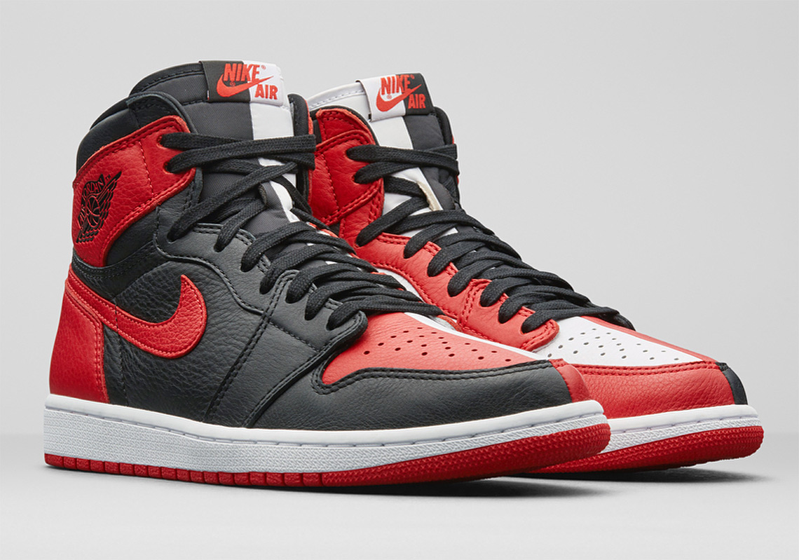 "pretty nice 09f16 7a5a5 The First Air Jordan 1 ""Homage To Home"" Version Is Limited To 2,300 Pairs"