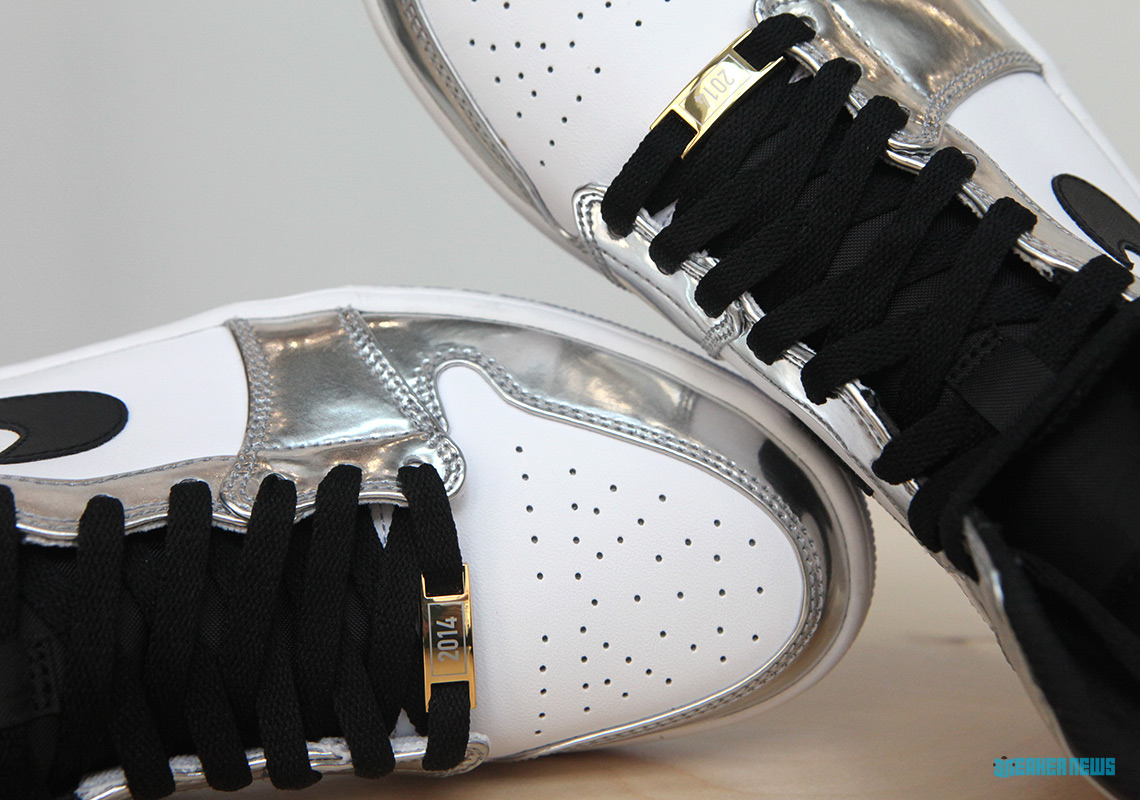 ca6e6592c00 Air Jordan 1 Kawhi Leonard Art Of A Champion Silver Black ...