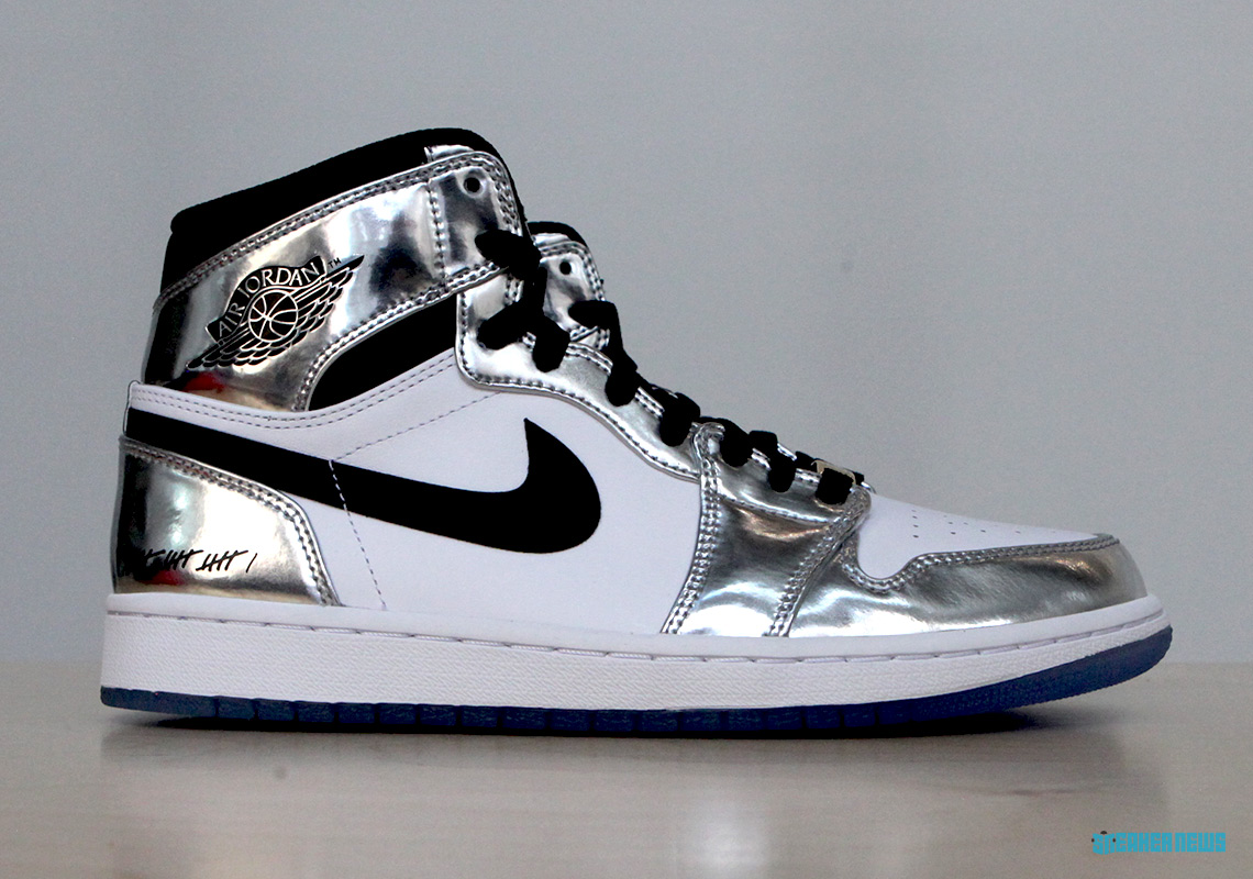 12b2ec6f0bf Air Jordan 1 Kawhi Leonard Art Of A Champion Silver Black ...
