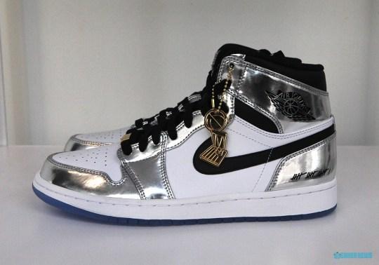 """Closer Look At The Air Jordan 1 """"Kawhi Leonard"""""""