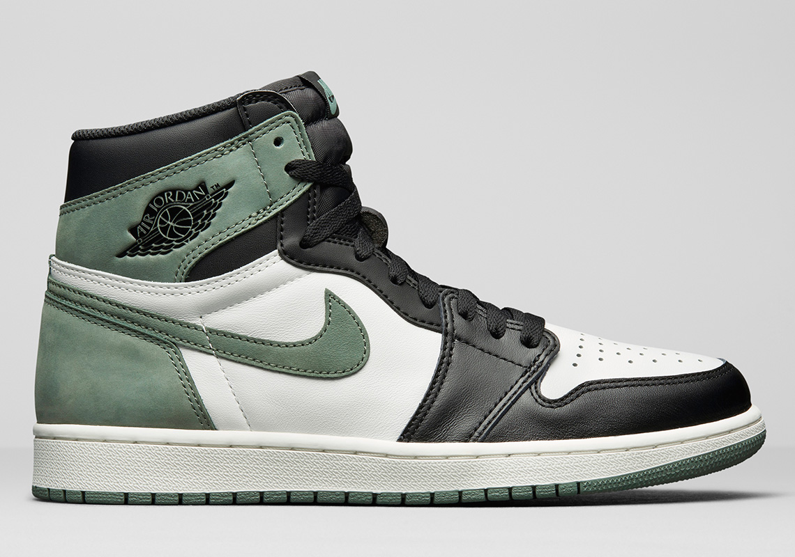 "7d47908b5c93bb Air Jordan 1 Retro High OG ""Clay Green"" Releasing exclusively in US and  China Release Date  May 1"