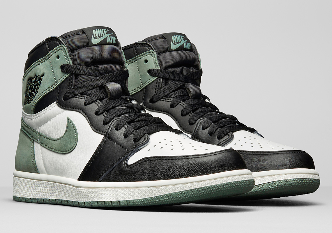 "5e7378523d5 Air Jordan 1 Retro High OG ""Clay Green"" Releasing exclusively in US and  China Release Date  May 1"