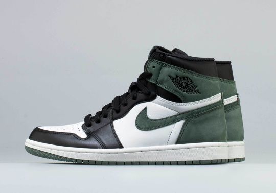"Air Jordan 1 ""Black Toe"" To Release In Clay Green"