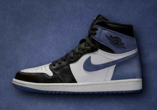 "Updated Release Info For The Air Jordan 1 Retro High OG ""Blue Moon"""