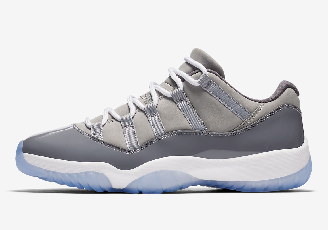 "Air Jordan 11 Low ""Cool Grey"" 528895-003 Release Info ... Jordan 11 Low Cool Grey 2014"