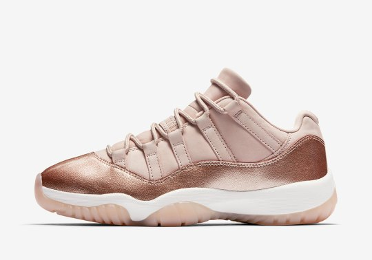 "Official Images Of The Air Jordan 11 Low ""Metallic Red Bronze"""