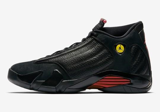 "Official Images Of The Air Jordan 14 ""Last Shot"""