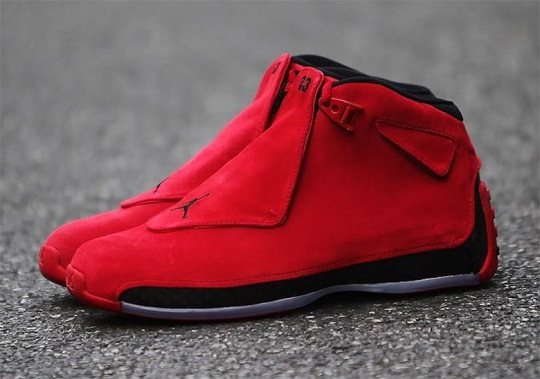 """Where To Buy The Air Jordan 18 """"Red Suede"""""""
