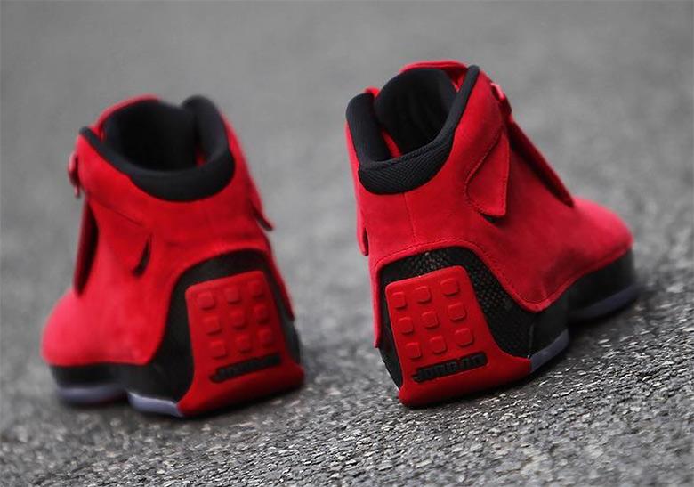 huge discount afba4 251be Air Jordan 18 Toro Red Suede Where To Buy AA2494-601   SneakerNews.com