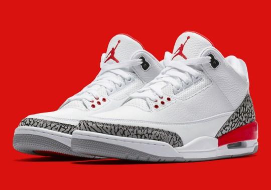 """Detailed Look At The Air Jordan 3 """"Katrina"""""""