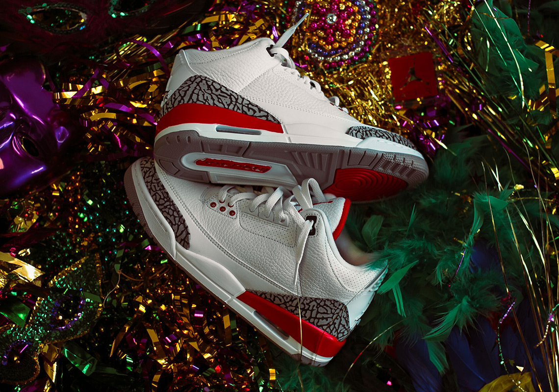 "online retailer 4b593 f868b The Air Jordan 3 ""Katrina,"" Originally Created For Charity, Will Release  For The First Time"