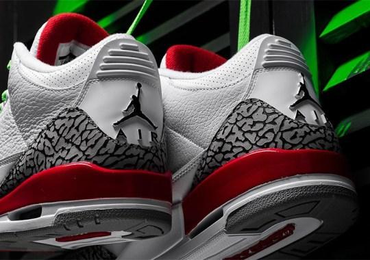 "Sneaker Politics And Jordan Brand To Launch Air Jordan 3 ""Katrina"" Early Through Joint Block Party"