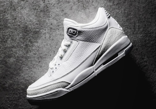 "Detailed Look At The Air Jordan 3 ""Pure White"""