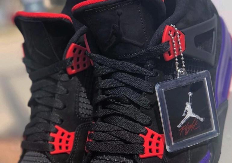"""An Air Jordan 4 In """"Raptors"""" Colors Is Coming Soon"""