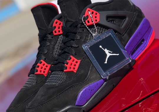 "Another Look At The Air Jordan 4 NRG ""Raptors"""