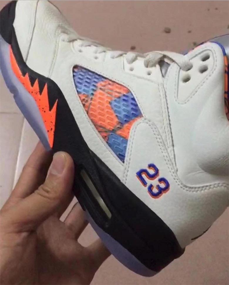 Air Jordan 5 Knicks 136027-148 First